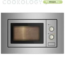 Cookology IM17LSS Built in Microwave   Stainless Steel Integrated Frame Trim Kit