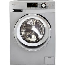 NEW GE Appliances HLC1700AXS 24in 2 0 Cu  Ft  Front Load Washer Dryer Combo CF