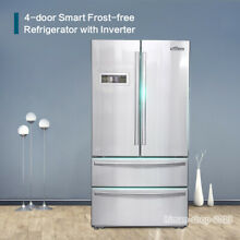 Thor Kitchen HRF3601F 36 Inch French Door Refrigerator with Automatic Ice Maker