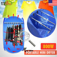 Brand New Air O Dry mini Portable Electric Clothes Dryer Bag Blue 110v 220v