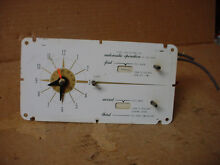 Thermadore Double Oven Timer Clock Part   19022 60