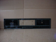 Kenmore Built In Oven Glass Control Panel Part   325839
