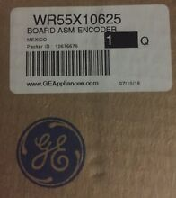 New old stock WR55X10625 GE Refrigerator Board Assembly Encoder AP3996141