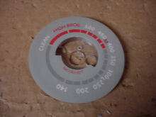 Thermadore Oven Thermostat Dial Gray Base Part   14 39 292