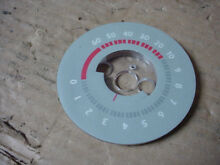 Thermadore Oven Timer Dial Gray Base Part   14 39 291