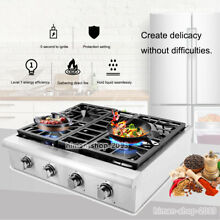 THOR KITCHEN 30  Gas Rangetop Cooktop Stainless Four Burners gas stove HRT3003U