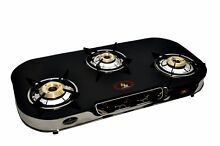 3 BURNER GLASS COOKTOP HIGHLY EFFCIENT