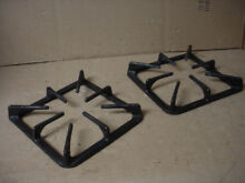 Kenmore Gas Range Burner Grate Very Stained Set of 2 Part   316213805