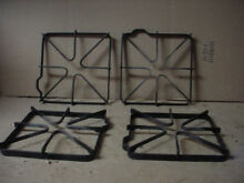 GE Gas Range Burner Grate Very Stain But Usable Set Of 4 Part  WB31K0006 WB31K6