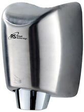 High Efficiency Touchless No Hands Electric Hand Dryer Stainless Steel 110 Volt