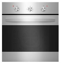 Empava 24  Stainless Steel 6 Cooking Function Electric Built in Single Wall Oven