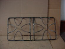 Whirlpool Gas Range Burner Grate Worn but Usable Part   98009281
