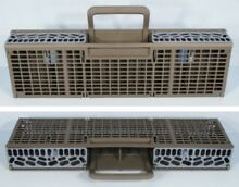 WHIRLPOOL OEM DISHWASHER CUTLERY BASKET ASM W10350340   W10336560   W10360461