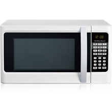 DIGITAL WHITE MICROWAVE OVEN 1 1 CU FT TOUCH PAD CONTROL 1000W POWER