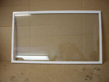 GE Refrigerator Upper Shelf Glass Part   WR71X10628
