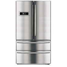 21 cu ft French Door Refrigerator Freezer with Ice maker Kitchen Drawer Fridge