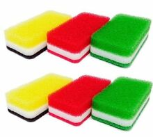 Duskin kitchen sponge 3 pieces antibacterial type S x 2 set minute Import JP