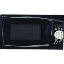 MAGIC CHEF MCM770B  7 Cubic ft  700 Watt Microwave with Digital Touch Black