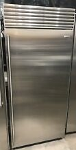 Sub Zero 36  BI36F S TH ALL FREEZER STAINLESS STEEL RIGHT HINGE BUILT IN