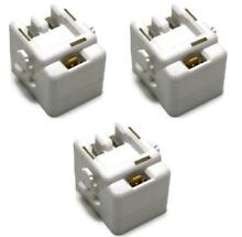 Refrigerator Start Relay and Overload 4SP  61005518  12002782 3 Pack Relay