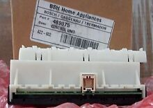 BOSCH DISHWASHER CONTROL UNIT   PART  00489075 489075  NEW   BOX HAS BEEN OPENED