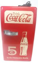 Koolatron   Coca Cola Retro 0 8 Cu  Ft  Mini Fridge ccr12   Red