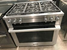 Miele 36  Pro Style Stainless Steel Dual Fuel Range HR1934 DF M Touch  8799
