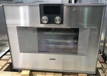 Gaggenau 400 Series  BS470610 24  Combi Steam Single Oven Right Hinge