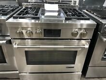 Jenn Air 36  Pro Style Stainless Steel Free Standing Gas Range JGRP536WP Griddle