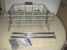 Kitchenaid Dishwasher Kuda Upper Rack Slide Tray Drawer Wheels Rails Appliance