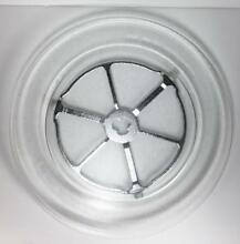 GE General Electric OEM WB49X10166 Glass Microwave Tray w  Roller Guide 16