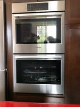 BOSCH 800 Series 30  12 Modes Fast Pre Heat Double Electric Wall Oven HBL8651UC