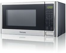 Kenmore 73773 0 9 cu  ft  Microwave Oven Stainless Steel 900w   NEW