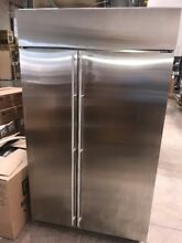 Monogram 48  Stainless Steel Built In Side By Side Refrigerator ZISS480NKSS  10K