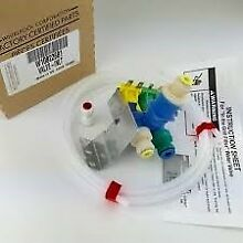 W10822681   WP10822681 Ice Maker Water Valve For Whirlpool Refrigerator