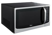Oster 1 6 cu ft Stainless Steel Digital Microwave Oven WITH Sensor and Inverter