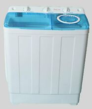 Portable Compact Tub Automatic Washing Machine Spin Cycle Dryer 7 lbs Capacity