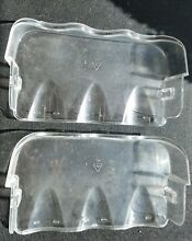 TWO Used Frigidaire Refrigerator Door Tray Bin Part   5304470341