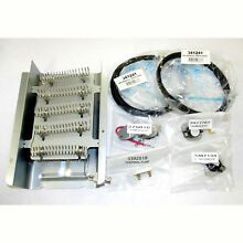 Dryer Heating Element Repair Kit Whirlpool Kenmore Roper KitchenAid Part 8565582