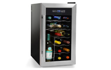Thermoelectric Wine Cooler Chiller 18 Bottle Counter Top Red   Bar FreeStanding