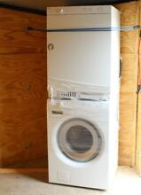 Asko Washer   Dryer Stackable Combo W6324   T743C 220V