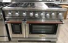 Caliber 48  Indoor Professional Range 6 Burners   Griddle RG4G N Natural Gas