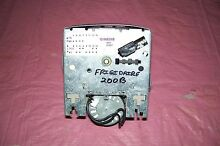 FRIGIDAIRE WASHER TIMER WITH KNOBS   131906200B  SEE PICTURES