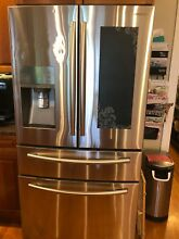 Samsung RF24FSEDBSR 23 6 cu  ft  French Door Refrigerator   WAS  2996