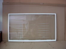 GE Refrigerator Glass Shelf Part   WR32X10481
