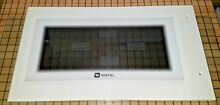 Maytag Microwave Door Panel White DE94 01352F  1190830 SATF GUAR FREE EXPD SHIP