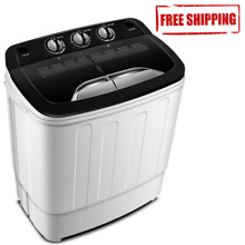Dual Washing Machine Spin Dryer Twin Tub Machine Portable Washer And Dryer
