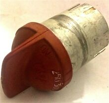 Magic Chef Vintage Antique Gas Stove Range Oven Thermostat Knob Red 1940s  Part