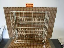 Whirlpool Dishwasher Lower Dishrack w Wheels  8268708   30 DAY WARRANTY