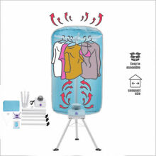 Electric Clothing Dryer Portable Rack Heater Drying Machine Lightweight 900W new